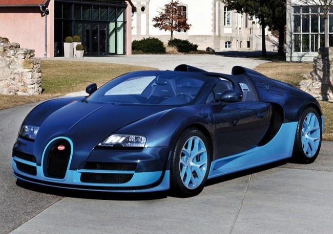 Bugatti Veyron 16.4 Grand Sport Vitesse, 2012 год