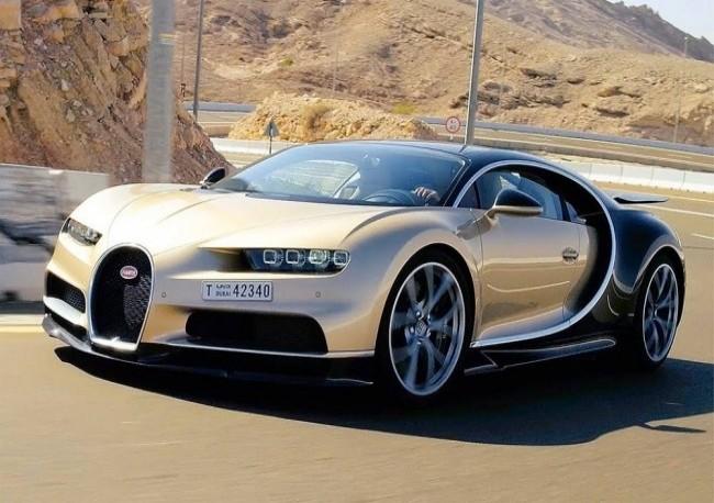 Bugatti Chiron, 2016 год
