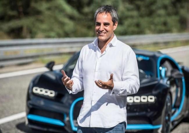 Bugatti Chiron и Хуан Пабло Монтойя, 2017 год