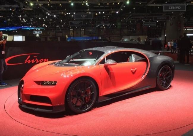 Bugatti Chiron Sport, 2018 год