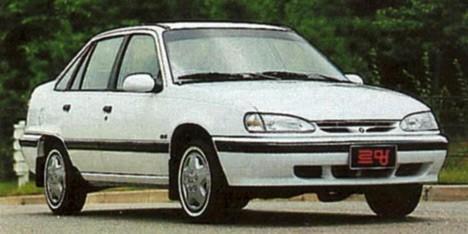 Популярная Daewoo Nexia фактически представляла изсебя видоизменённый Opel KadettE.