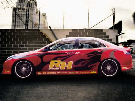 Acura TSX DAZZ Motorsports – До основанья, а затем…