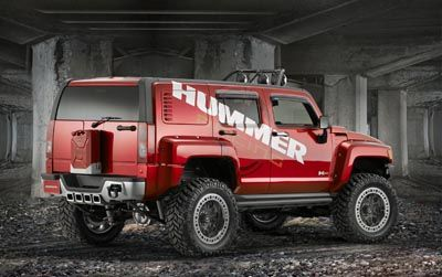 Hummer H3R – гоночный внедорожник