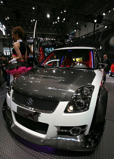 Карбоновый Suzuki Swift