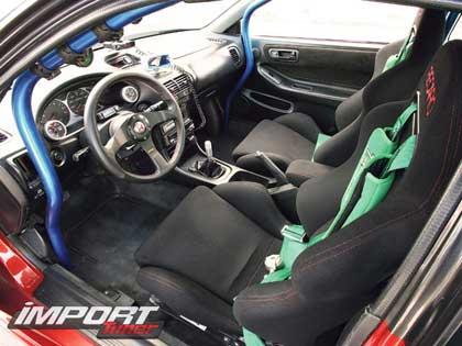 Три попытки для Acura Integra GSR 2000