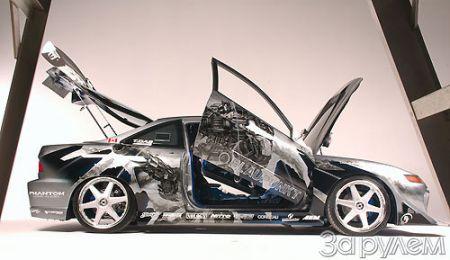 Тюнинг Acura Integra LS. Acurabot - больше, чем видно