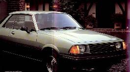 Первая модель Mazda 626. 81-й год