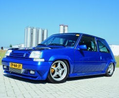 Turbo-Hammer: Renault 5 GT Turbo из Германии