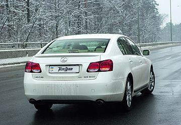 Белый медведь: Lexus GS 300 AWD