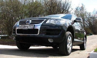 Volkswagen Touareg – машина переменного роста