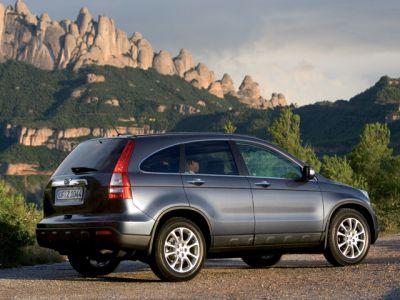 Honda CR-V и ледовый бриз