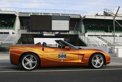 Chevrolet Corvette впереди всех гоночных машин