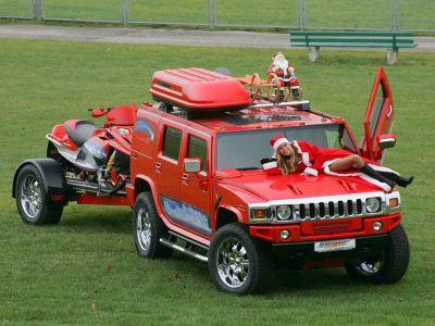 Санта-Клаус продался ради Hummer