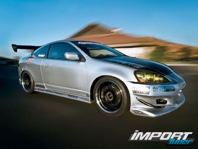 Acura RSX Type S Turbo — проект от Import Tuner
