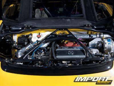 Тюнинг Acura NSX-T - Одиссея Гомера
