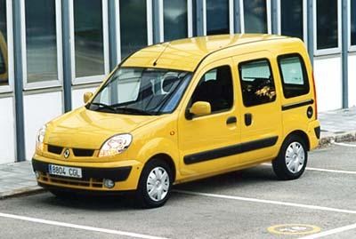 """""""Kangoo 2003"""" щеголяет новым дизайном передней части кузова"""