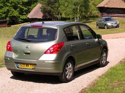 Nissan Tiida – самая просторная в С-классе