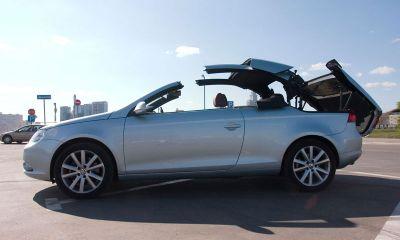 Кабриолет Volkswagen Eos сносит крышу