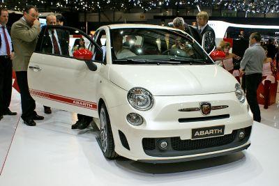 Женевский автосалон 2008: Новый Fiat Abarth 500