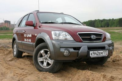 ������� ����: Hyundai Santa Fe � Kia Sorento
