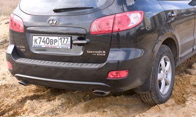 Двойной тест: Hyundai Santa Fe и Kia Sorento