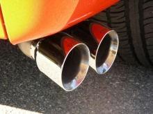 Oранжевый супер-трак