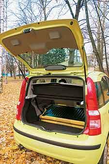 Либо место в багажнике, либо заднее сиденье. Выбирайте!