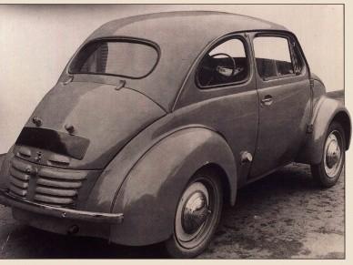 Первый прототип модели 4 CV