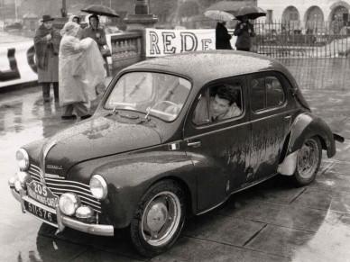 Renault 4 CV - участникралли Монте-Карло 1949 г.