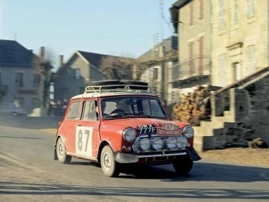 Ралли Монте-Карло 1968 года. Экипаж Хопкирк-Креллин