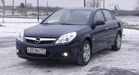 Opel Vectra. Вектральный анализ