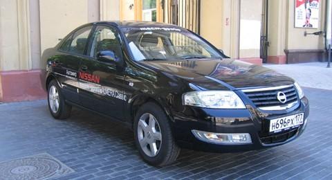 Nissan Almera. Корейский горожанин
