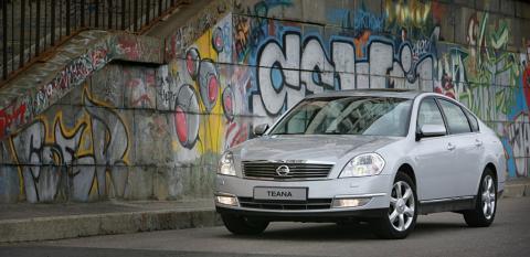 Nissan Teana. Трудности перевода