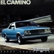 История «мускулистого» пикапа Сhevrolet El Camino