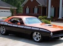 1970 Plymouth Barracuda: что будет если скрестить Барракуду с гадюкой?