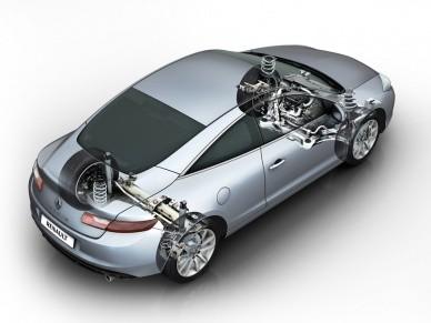 Система 4Control учитывает скорость автомобиля, положение рулевого колеса, тип двигателя и показания ESP/ABS