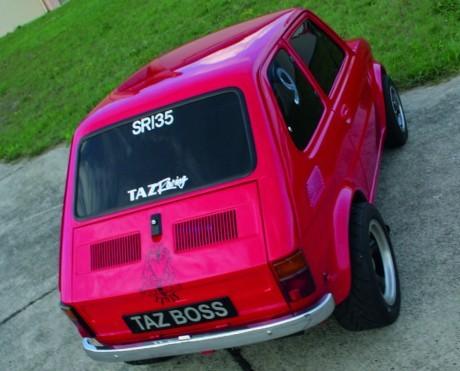 Fiat 126: коробок под small block