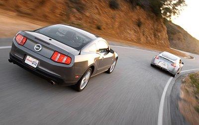 Преследование Z на этой трассе вряд ли закончится хорошо для Mustang.
