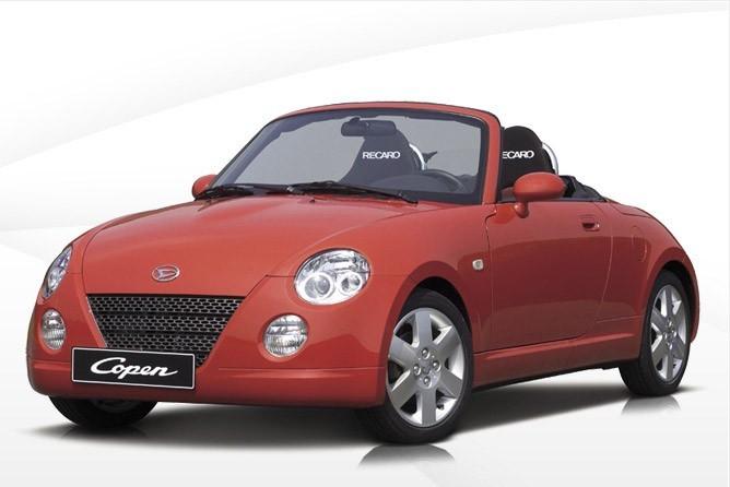 Daihatsu Copen вид спереди