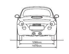 Daihatsu Copen габариты автомобиля
