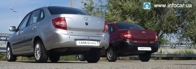Лада Гранта - первый тест-драйв