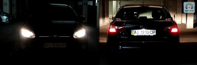 Датчик света автоматически включает ближний свет