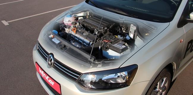 volkswagen polo sedan устранить шум выхлопа
