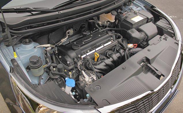 где производят двигатель для киа рио 3