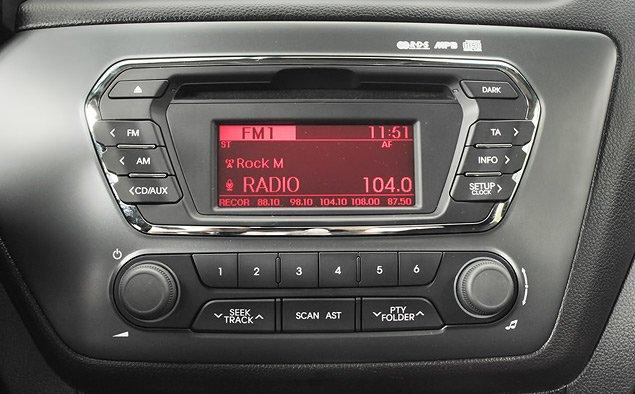 как включить радио в киа рио