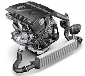 В гамме моторов Audi не осталось атмосферных двигателей. Все оснащены турбонаддувом, а 3.0 TFSI (у A5 и S5)  компрессором.