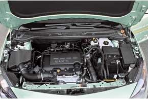 С турбированным двигателем 1,4 NET Opel зажигает свою звезду на небосклоне мощных агрегатов малого объема.