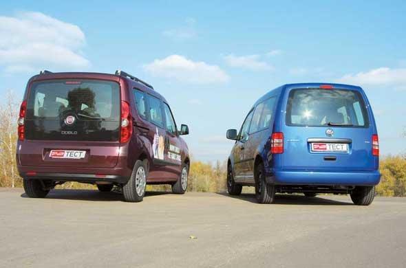VW Caddy, Fiat Doblo