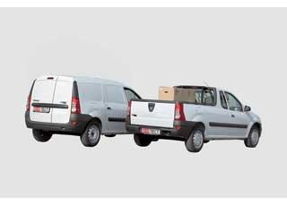 Logan Van 1,5 dCi, Logan Pick-Up 1,6