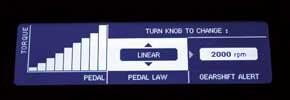 Linear: данный режим является стандартным и рекомендован, если дорога влажная.